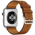Dalan serie 2 1 lazo de cuero genuino para apple watch band 38mm de cuero correa ajustable para apple watch lazo único tour 42mm