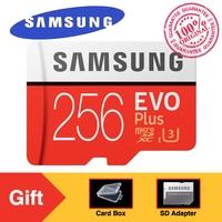 Original SAMSUNG Micro SD Memory Card EVO Plus 256GB 95MB S Class10 U3 UHS I TF