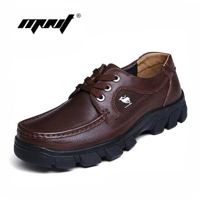 Полное зерно кожа мужчины обувь высокого качества мужские ботинки ручной работы открытый рабочая обувь из натуральной кожи осенние сапоги