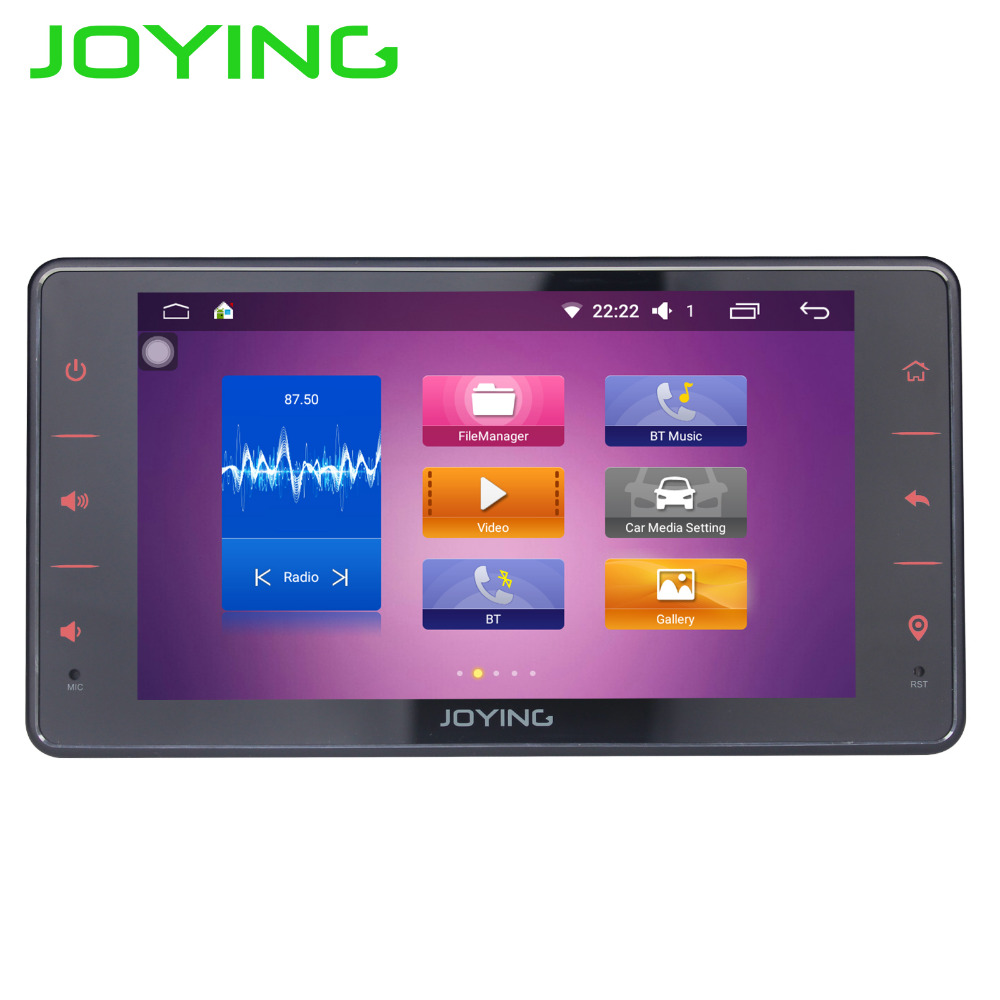 JOYING new 6 2inch touch screen 1din android 6 0 car radio
