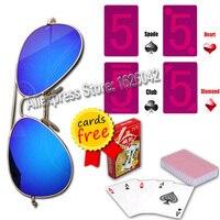 Волшебные очки XF001 невидимые игральные карты очки Волшебные Читы карты перспективный покер карты анти покер обманка
