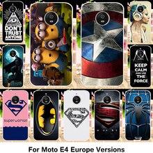 TAOYUNXI Silicone Phone Case For Motorola Moto E4 Cases XT1766 XT1763 Cover