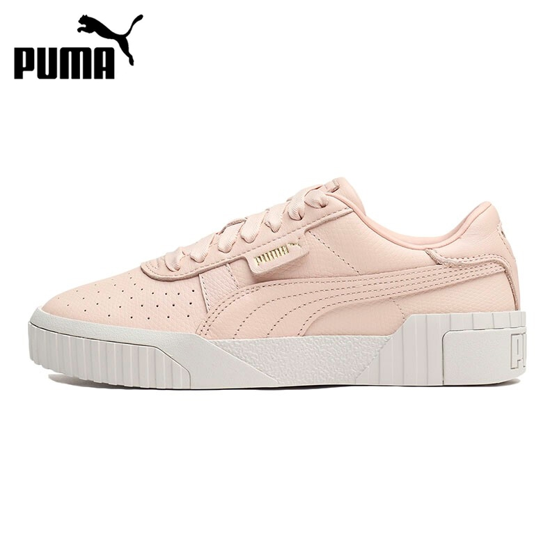 Original New Arrival 2019 PUMA Cali Emboss Women's  Skateboarding Shoes Sneakers