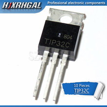 Transistor de transistor para-220, ponta ponta 31 e ponta 32, 10 peças, ponta 42c, lm317t, irf3205, 10 peças