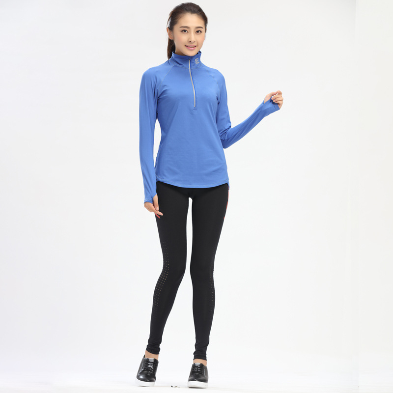 Autumn Winter Lovers Men Women Fitness Suits Quick Dry Elastic - Sportswear and Accessories
