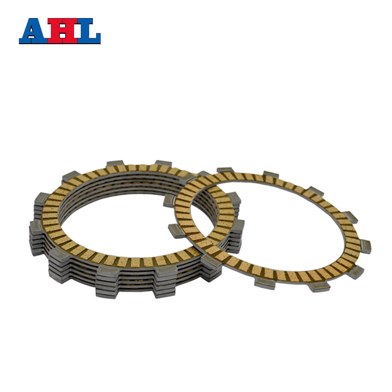 Motorcycle Engine Parts Clutch Friction Plates Kit For Kawasaki KLX250 KLX 250 #CP-00027Motorcycle Engine Parts Clutch Friction Plates Kit For Kawasaki KLX250 KLX 250 #CP-00027