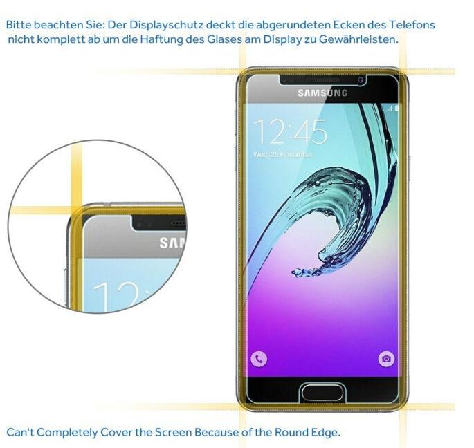 SM-A510F Kaca Perlindungan Untuk Samsung A5 2016 Filem Kaca Tempered - Aksesori telefon bimbit dan bahagian - Foto 4