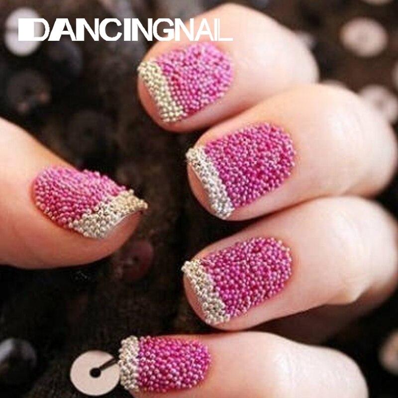 12pcs/pack New Nail Art Trend Caviar Manicure Decoration Nails Micro ...