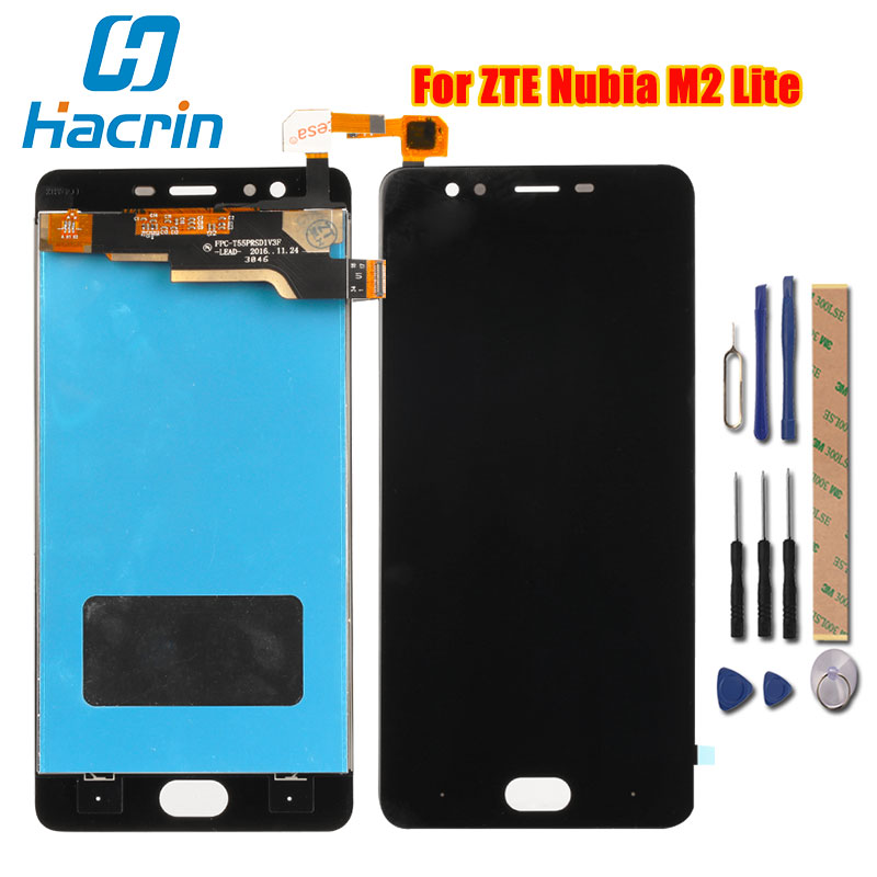 For ZTE Nubia M2 Lite LCD Display Touch Screen New Digitizer Screen Glass Panel Replacement For