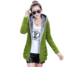 Casual Women Velvet Hoodies