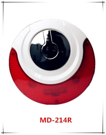 MD-214R Wired Siren 120db Mini Wired Siren Horn Wired Siren with flashing lfor Wireless Home Security Alarm System кувалда truper md 6f 19884