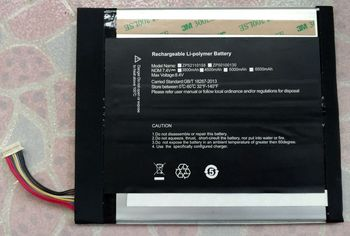 Magic cube i9 Tablet PC battery 2877167 7.6V5000mAh38Wh battery 12.2 inches