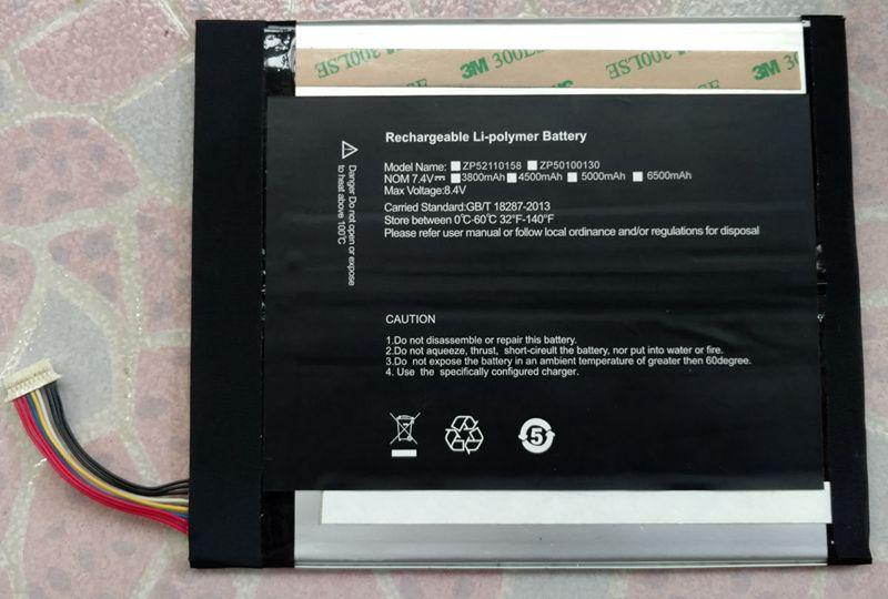 Magic cube i9 tablette PC batterie 2877167 7.6V5000mAh38Wh batterie 12.2 pouces