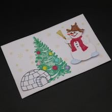 AZSG Happy snowman Cutting Dies For DIY Scrapbooking Decorative Card making Craft Fun Decoration 8*5.2cm