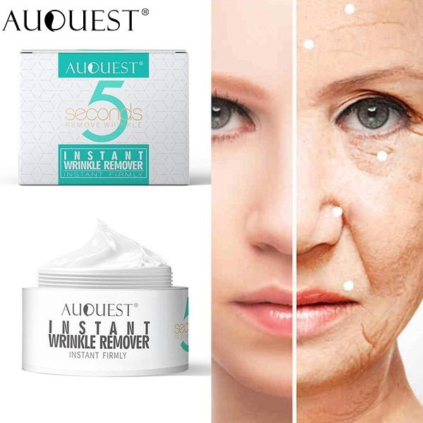 1/2/3/5pcs AuQuest 5 Second Body Wrinkle Remover Anti-aging Moisturizer Instant Firmly Face Cream Skin Care Facial Beauty