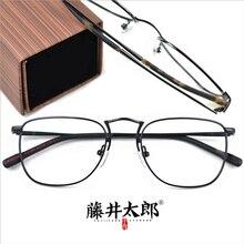 TARO FUJII Spectacle Frame Eyeglasses Men Women Retro Myopia Computer Optical Clear Lens Eye Glasses Frame Male Female FT1009 цена