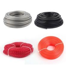 3 мм провод для газонокосилки Strimmer кусторез Триммер нейлоновая стальная проволочная веревка шнур линия длинный рулон трава веревка