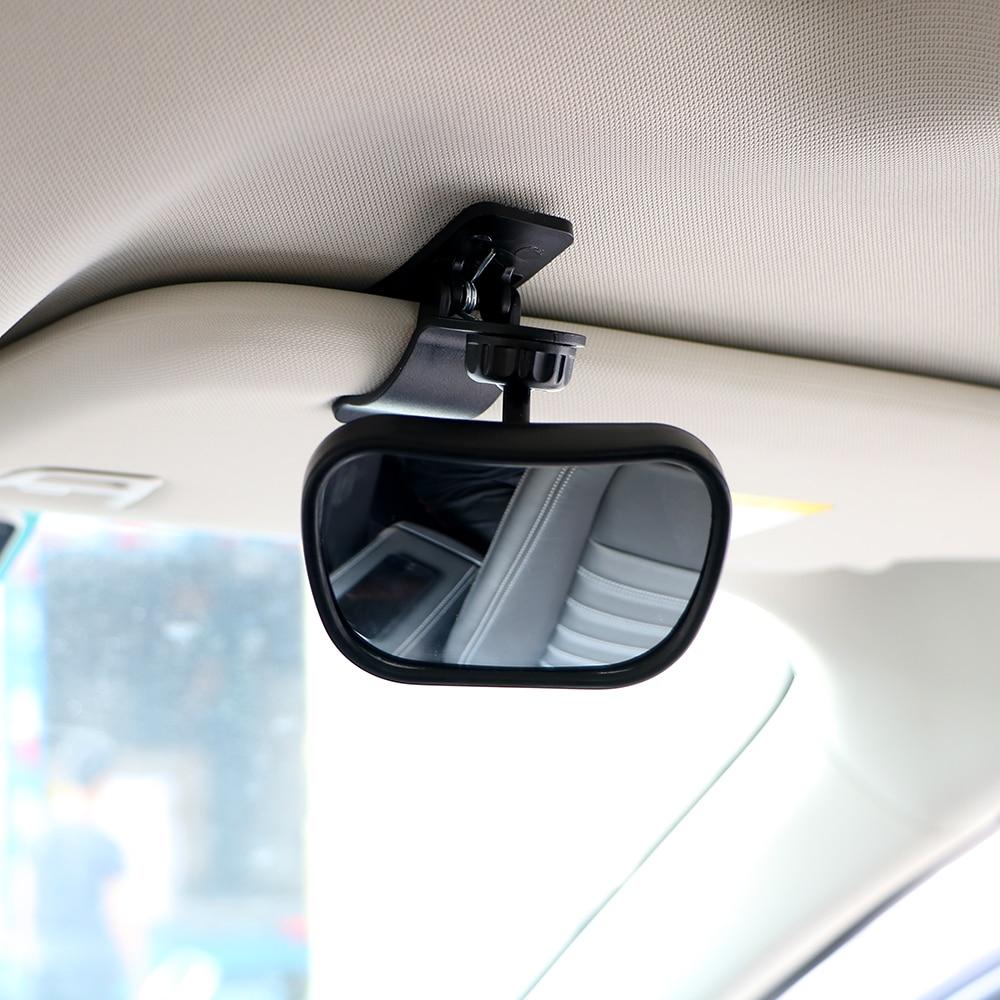 Car Child Mirror For Child Seat Safety Baby Rearview Mirror Universal Headrest Interior Mirror Black Car Styling