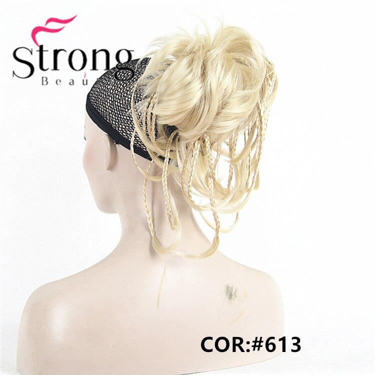 de cavalo extensão do cabelo sintético cabelo-pedaço com maxila garra cor escolhas