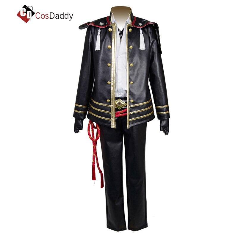 CosDaddy Touken Ranbu Online cosplay costume Akashi Kuniyuki uniform