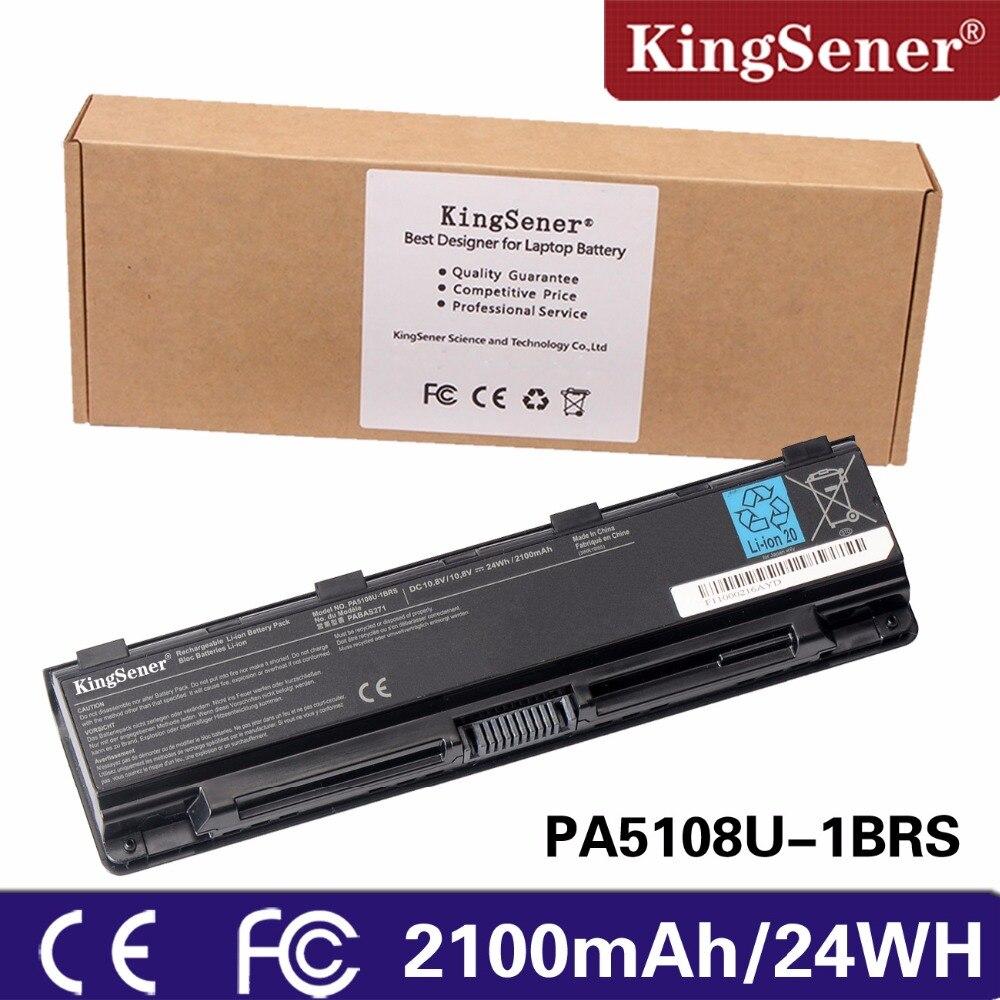 KingSener PA5108U-1BRS Laptop Battery for Toshiba Satellite C50 C50D C40 C55 C55D C840 C805 PA5109U-1BRS PA5110U-1BRS PA5108U k000890980 for toshiba satellite c50d c50d b c50d b c55d b laptop motherboard integrated zkwae la b302p store no 999