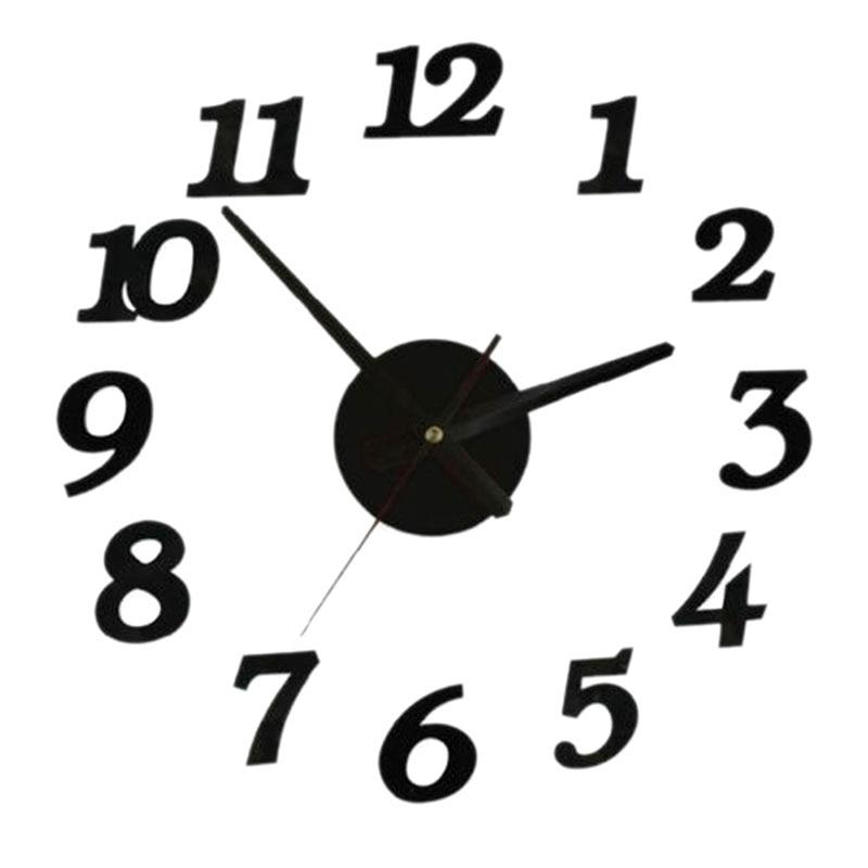 3D creativamente Romae Digital Reloj de pared reloj moderno diseño ...