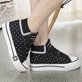 Миссис win 2017 Новый Хорошее Качество Классический Женщины Повседневная Обувь Платформы Женская Обувь Дышащие Sapatos Femininos Студент Обувь