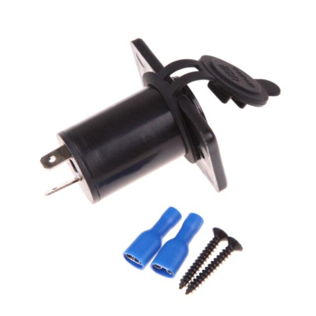 Cargador USB Dual toma de corriente a prueba de agua 3,1 amp Panel montaje motocicleta coche cargador coche encendedor enchufe divisor nuevo