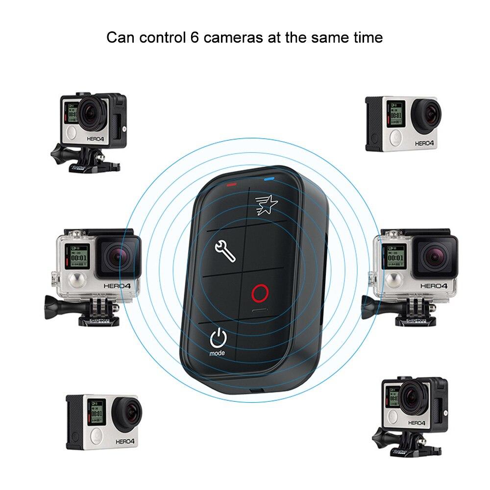 TELESIN télécommande Wi Fi sans fil intelligente résistant à l'eau pour GoPro Hero 4/3 +/3/4 Session caméra d'action sportive-in Accessoires pour caméscope from Electronique    3
