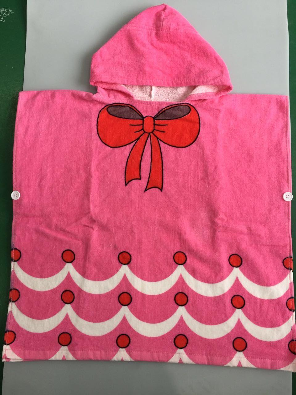 Мультяшные халаты «Алиса» для мальчиков и девочек, «Белоснежка», «динозавр», «панда», «машинка», «робот», милое детское банное полотенце, детский банный халат, пижама - Цвет: bowknot