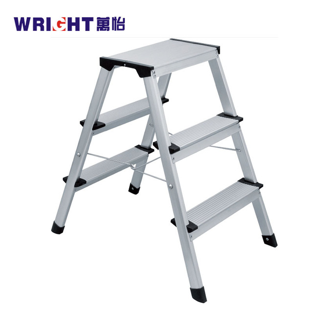 Lightweight Folding Stool Heavy Duty Non Slip 3 Step