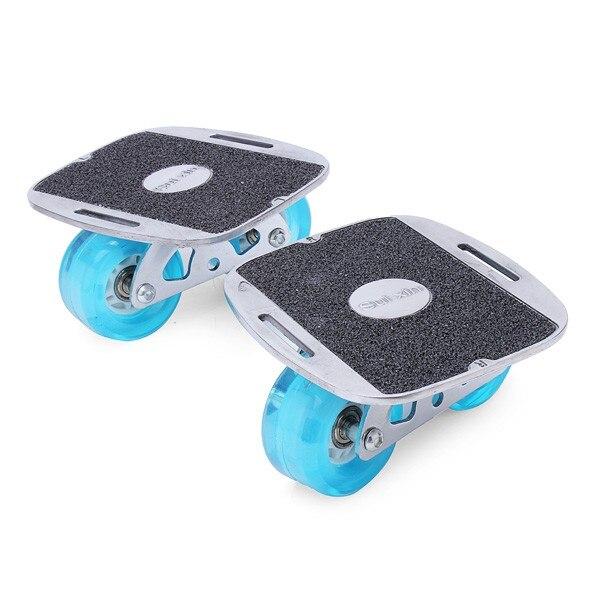 Dérive patins Freeline patins planche clignotant coloré roue en polyuréthane avec clé accessoires
