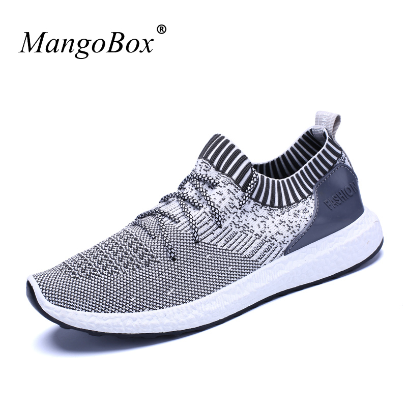 2018 New Man Sneakers Sports Shoes Black Blue Fitness Shoes Mesh Men Spring Summer Cheap Mens Running Trainers