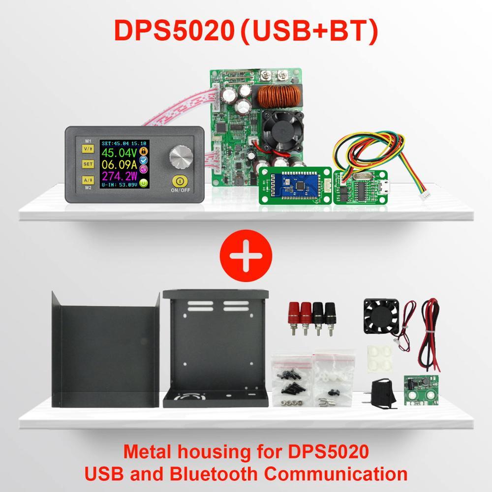 Fornateu DPS5020 USB-Bluetooth-Kommunikation Constant Voltage Current Step-down-Digital-Stromversorgung Buck-Spannungswandler LCD Voltmeter