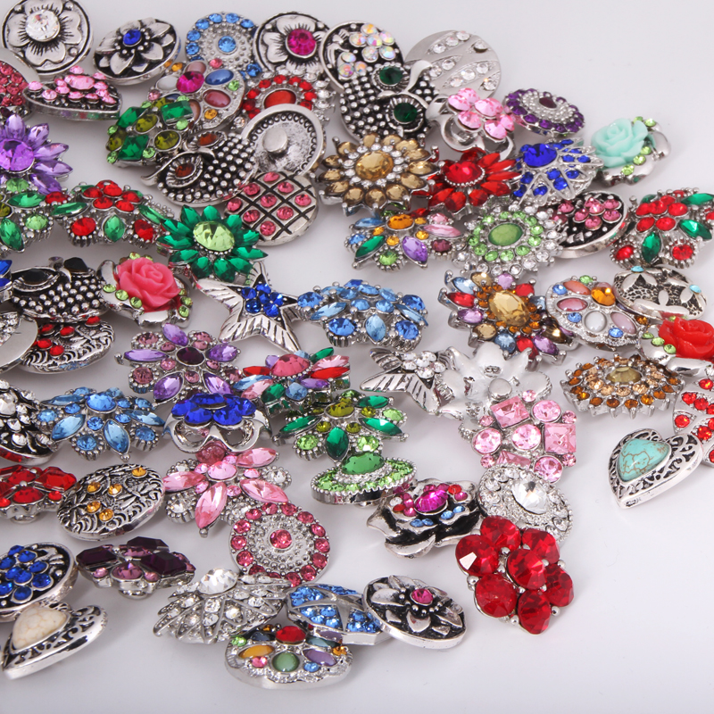 Wholesale   60pcslots High quality metal snap button   for bracelet  OEM ,ODM  random delivery  ML3988