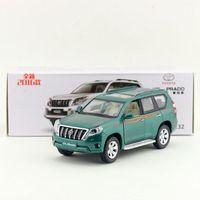 Brand New YJ 1 32 Scale Car Model Toys JAPAN 2016 Toyota Prado SUV Diecast Metal