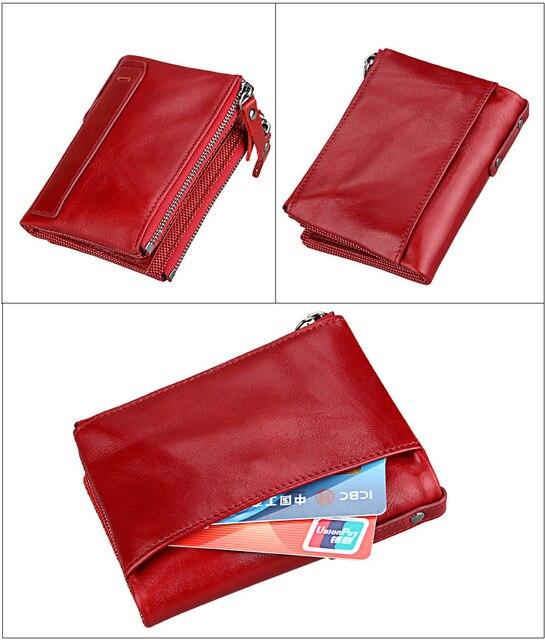 Vintage Small Zipper Wallet  5