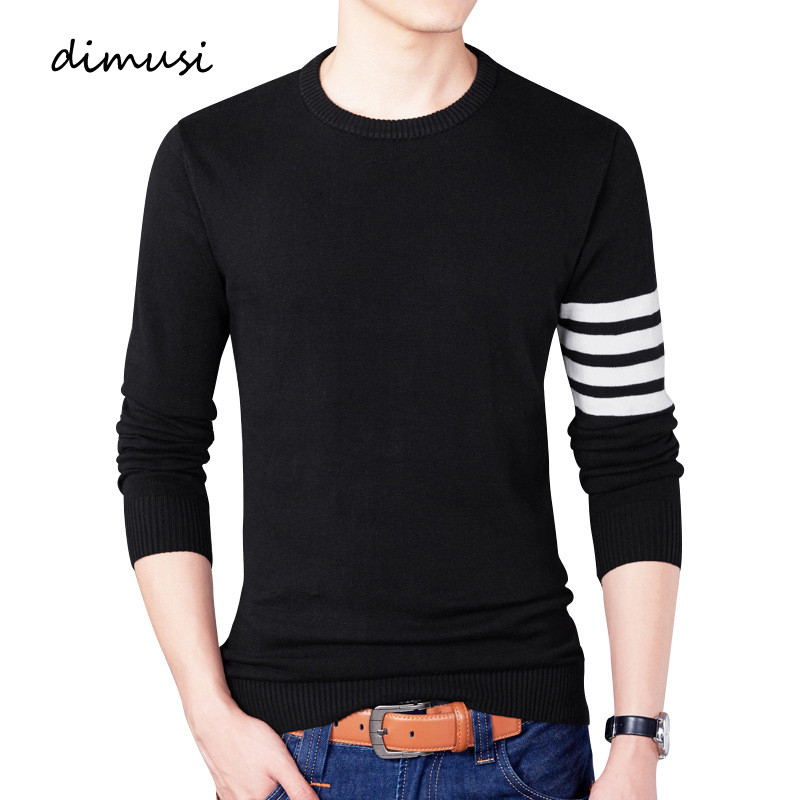 DIMUSI Autumn Mens Pullover Sweaters Casual Mens Turtleneck Sweater Male Fashion Slim Fit Brand Knitted Pullovers Clothing 4XL