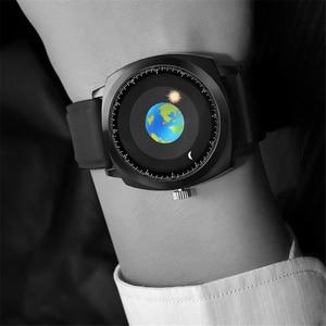 Image 5 - Addies Creatieve Persoonlijkheid Concept Horloge Mannen Vrouwen Siliconen 50m Waterdichte Zwemmen Sport Quartz Horloge Top Merk Relogio Masculino