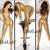 Mulheres Ouro Prata Preto Sexy Oco Nightclub Cantor de Hip Hop Jazz Dança BodySuit Rihanna Traje Figurinos Para Os Cantores