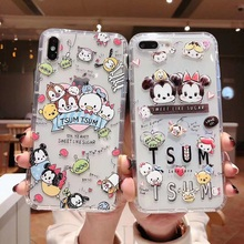 Cute Cartoon Minnie Mickey Winnie the Pooh Donald Duck Daisy Soft Clear Case for iPhone XS MAX XR 7 6 8 Plus Silicone Case стоимость