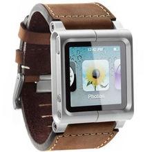 Новый высококачественный кожаный Multi-Touch кожаный браслет ремешок Браслеты для Ipod Nano 6 6th поколения