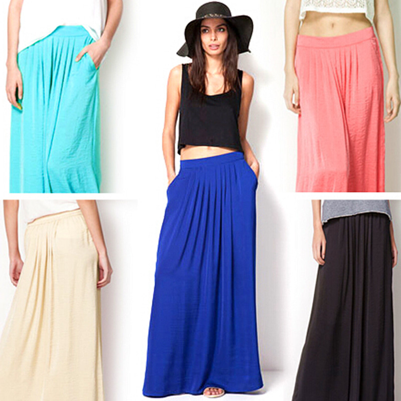 Online Buy Wholesale satin maxi skirt from China satin maxi skirt ...