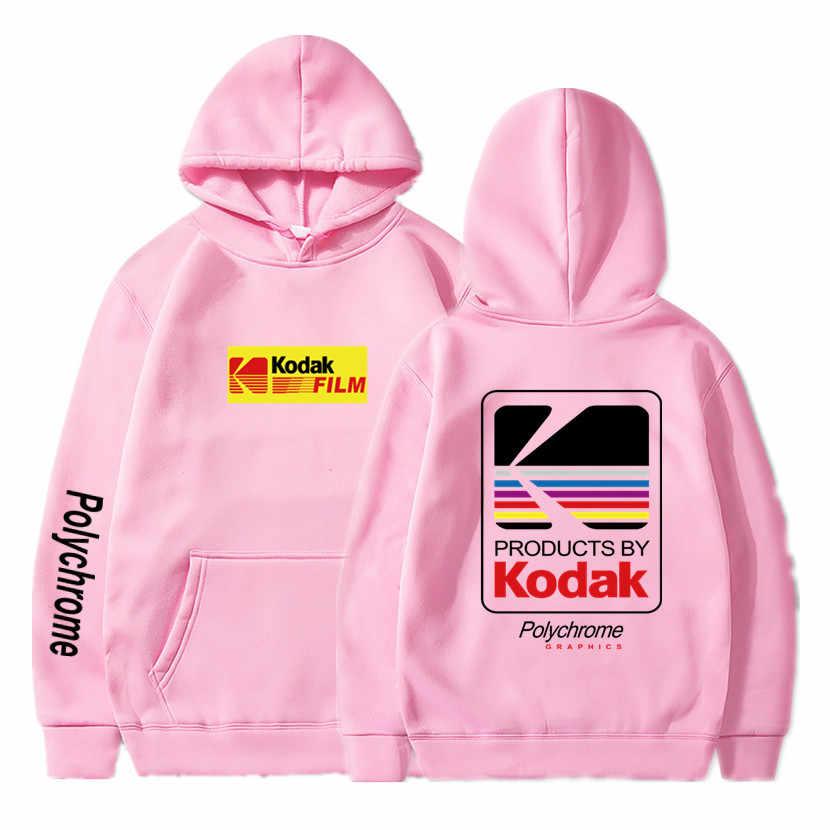 Japanse Hip Hop Winter Fleece Hoody Harajuku kodak Jassen Mannen Vrouwen Sweatshirts Dropshipping Nieuwe 2019 Hot Selling Hoodies