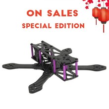 Speciale Editie Martian 215 215mm Carbon Fiber Frame Kit 136g Voor RC Quadcopter Drone FPV Racing Motor Runcam camera Deel(China)