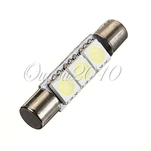 Большая Акция белый 31 мм 3 SMD 5050 светодиодный Авто C5W интерьер купола фестона косметическое зеркало козырек огни лампа DC12V