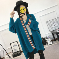 Maternity Sweater Cardigan Autumn Winter Coat 2017 New Loose Long Shirts Clothes For Pregnant Women