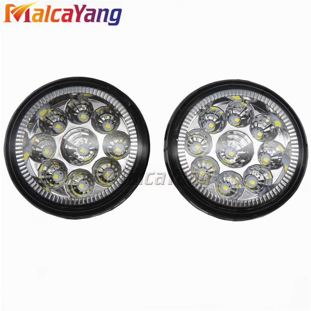 Fog Lights For Polo car-styling For 2007-2014 NISSAN Tiida Hatchback C11X 2007-2012 X-Trail T31