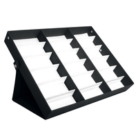 18 Sunglasses Glasses Retail Shop Display Stand Storage Box Case Tray Black Sunglasses Eye Wear Display