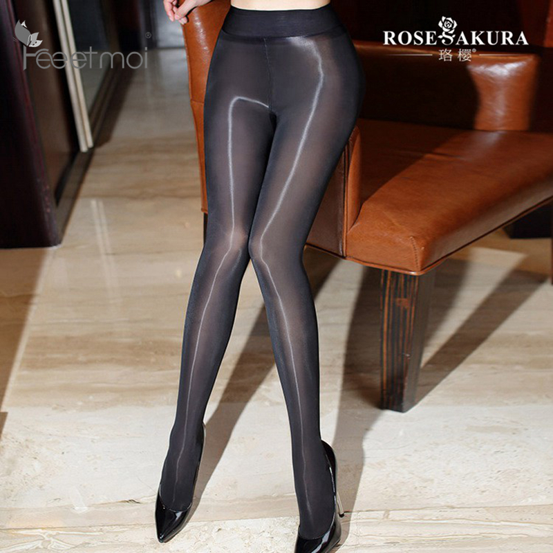 2017 New 8D Sexy Oil Shiny Pantyhose For Women Closed -2270